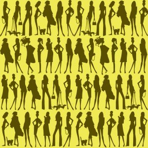 Papel Pintado Jordi Labanda Bond Girls Color Champagne