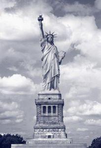 Mural Estatua de la Libertad