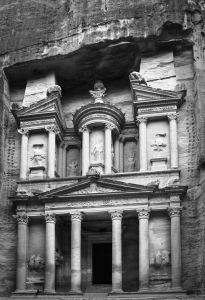 Mural Petra Gate Gris