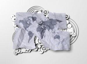 Mural Mundo Papel