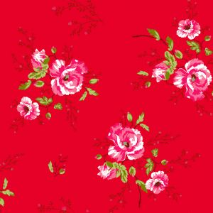 papel,pintado,Room,Seven,amapolas,rojas,rojo