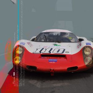 Mural Porsche 906