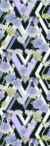 Mural Jordi Labanda Kaleidoscope Color Violeta