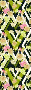 Mural Jordi Labanda Kaleidoscope Color Verde Amarillento Chartreuse