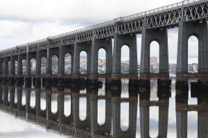 Mural Puente con Arcos