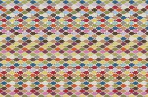 mural infantil peces colores