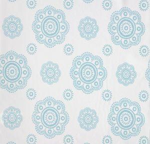papel,pintado,Room,Seven,figuras,florales,azul