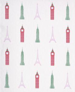 Papel Pintado Monumentos Rosa