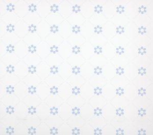 Papel pintado Margarita azul claro