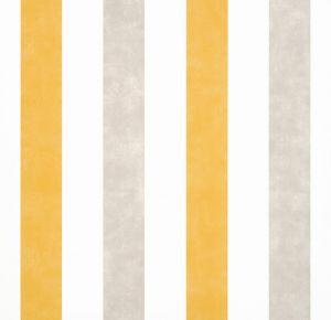 Papel Pintado Rayas Amarillo