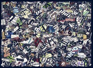 Mural Recortes Revistas Largo