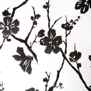 Papel Pintado Kanji Black & White