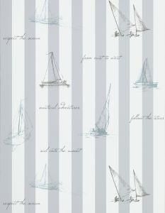 Papel Pintado Sailing Gris