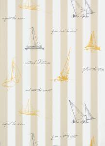 Papel Pintado Sailing Beige