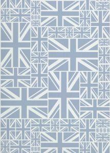 Papel Pintado Union Jack Azul