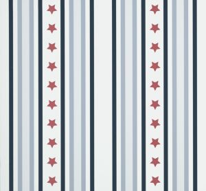 Papel Pintado Stars & Stripes Rojo