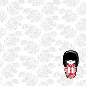 Mural Geisha