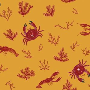 Papel Pintado Crustáceos Albero