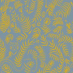 Papel Pintado Jungle Azul