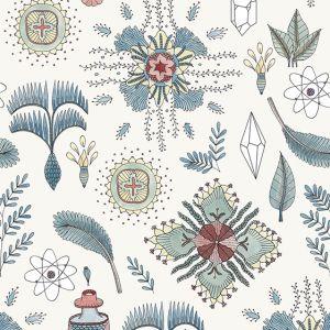 Papel Pintado Micro Cosmos Azul