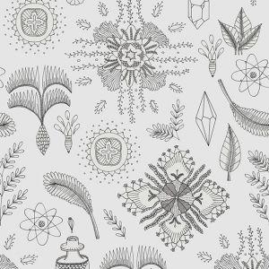 Papel Pintado Micro Cosmos Gris