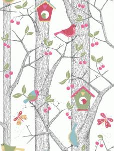 Papel pintado Cherry Friends 6262