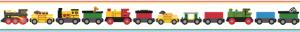 Cenefa BRIO Trains