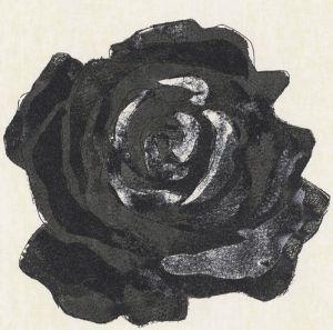 Mural Rosa Negra
