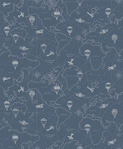 Papel pintado Adventures Blue
