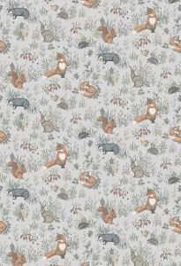 Papel pintado Forest Friends Grey