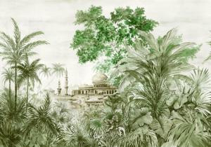 Mural Taj Mahal Aloe