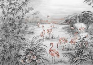 Mural Roseus Chia Seed