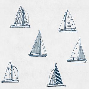 Papel pintado Eslora Navy