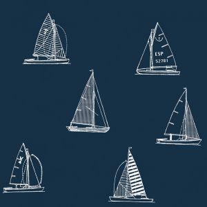 Papel pintado Eslora Full Navy