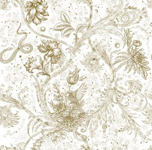Papel pintado Neo-Mithology Gold