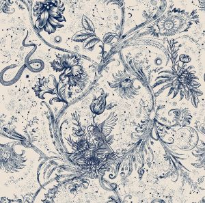 Papel pintado Neo-Mithology Blue