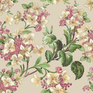 Papel pintado Flowery Beige