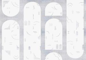 Mural Rostros Grey