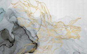 Mural Aurora Borealis Metalic