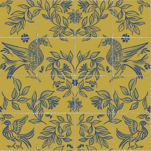 Papel pintado Cerâmica Mustard