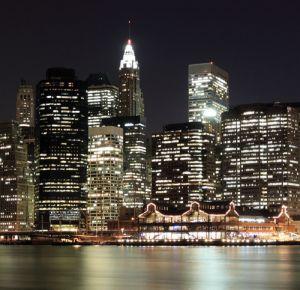 Mural Noche Nueva York