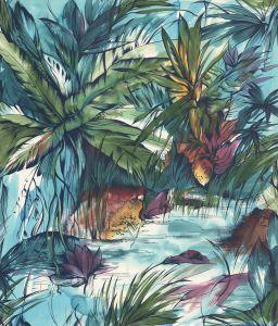 Mural Tropical Salvaje