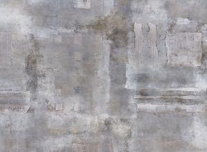 Mural Cemento y Periódico