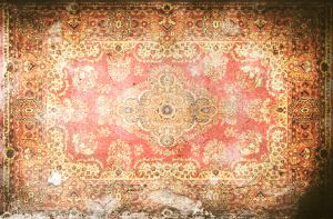 Mural Dark Ancient Rug