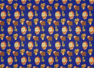 Mural Artista Van Gogh