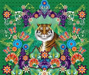 Mural Catalina Estrada Tiger