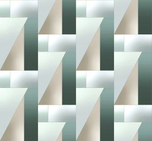 Papel pintado Irisdiscent Gold/Green