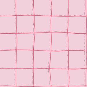 Papel pintado Squares Pink