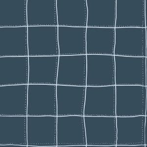 Papel pintado Squares Blue