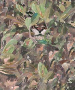Papel pintado Hidden Puma Autumn